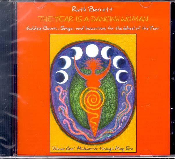 The Year is a Dancing Woman 1 CD by Ruth Barrett