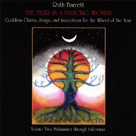 The Year is a Dancing Woman 2 CD by Ruth Barrett