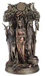 Triple Goddess Mother Maiden Crone Statue