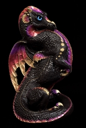 Windstone Editions Black/Gold Emperor Dragon