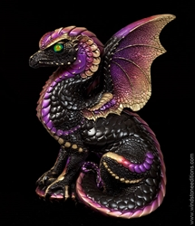 Windstone Editions Dragon - Spectral Dragon - Black/Gold