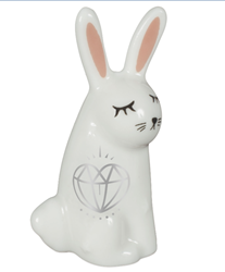 Winter Wonderful Totem Animal Figurines: Rabbit for Abundance and Blessings Winter Wonderful Totem Animal Figurines