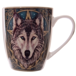 Wolf Pentacle Coffee Mug Wolf Pentacle Coffee Mug
