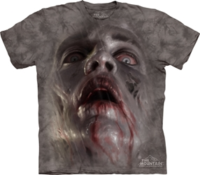 Zombie Face 3454 Tee Shirt