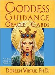 Goddess Guidance Oracle Cards & Guide Book by Doreen Virtue