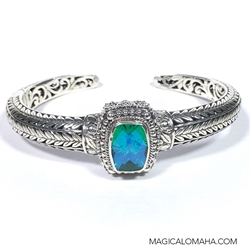 Blue Carribean Topaz Bracelet
