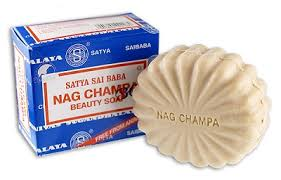 Sai Baba Nag Champa beauty soap.