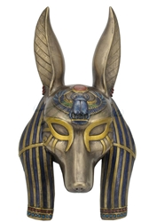 Anubis Mask Wall Plaque