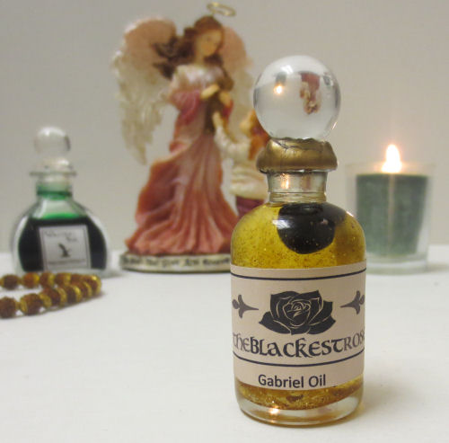 The Blackest Rose Archangel Gabriel Oil
