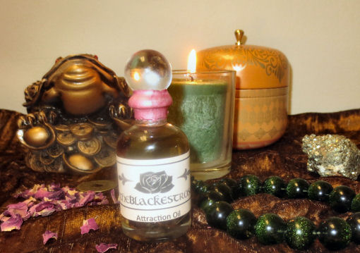 The Blackest Rose Attraction Oil