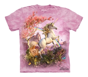 Pink Awesome Unicorn Tee Shirt Adult and Child Sizes  Pink Awesome Unicorn Tee Shirt, Beautiful Unicorn T-Shirt