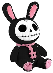 Furrybones® Black Bun-Bun Plush Stuffed Animal