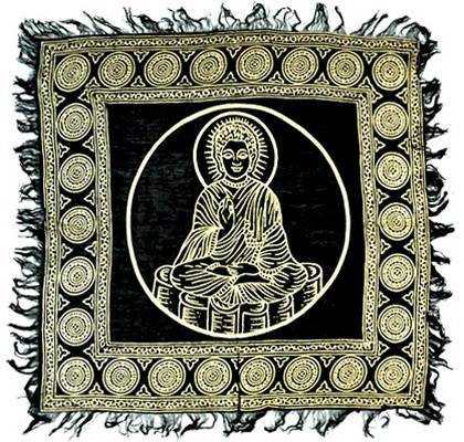 GOLD BUDDHA ALTAR CLOTH GOLD BUDDHA ALTAR CLOTH