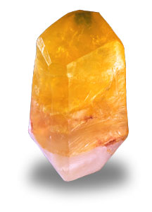 Citrine Soap Rock