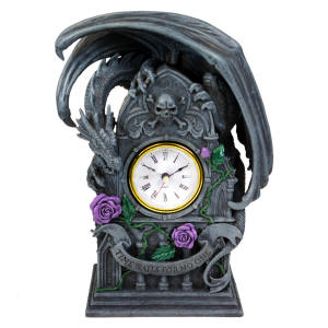 9848 Dragon Beauty Clock  Nemesis Now  by Anne Stokes  H: 10 1/4""