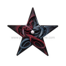 297 Dragons Pentagram Plaque by Anne Stokes  H: 11""