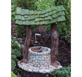 Fairy Garden Miniatures  Fairy Village - Wishing Well