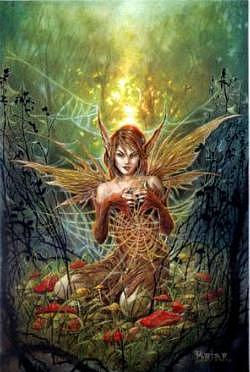 Briar Mythology Card-The Cobweb Fairy