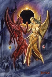 Briar Gothic Card - Dance with the Devil