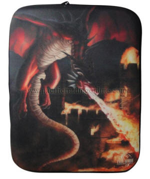 Incineration Dragon by Tom Wood Ipad Cover  or Laptop Sleeve