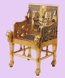 Life-Sized Kings Throne