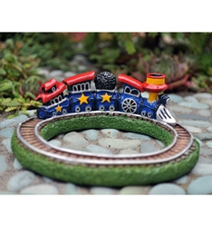 Fairy Garden Miniatures Cute Little Toy Train Set