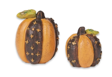 Mini Pumpkins Set of 2 Asst
