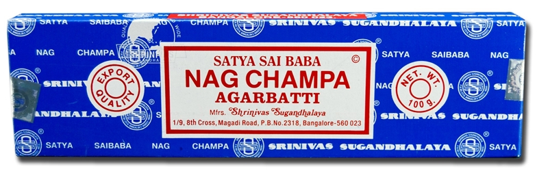 Certified Authentic Sai Baba Nag Champa Incense  100 grams Approx. 100 sticks