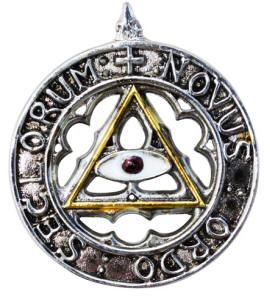 New Order of the Ages for an Enlightened and Happy Future Pendant