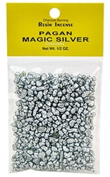 PAGAN MAGIC SILVER RESIN INCENSE - 1/2 OZ.