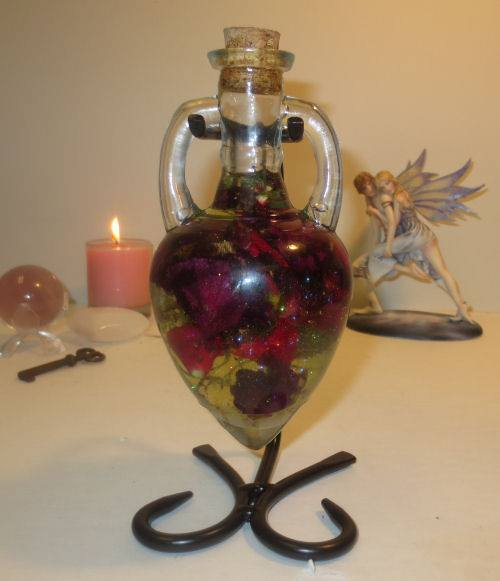 The Blackest Rose True Soulmates Witch Bottle