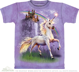 Unicorn Castle T-Shirt Adult and Child Sizes