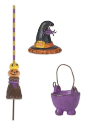 Mini Witch Access Set of 3