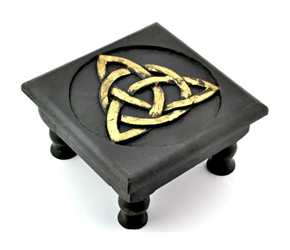 Pentacle, Triquetra or Moon Altar Table Pentacle, Triquetra or Moon Altar Table