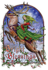 Bright Blessings RYB11 - Briar Mid Winter Card