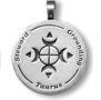 Star Wisdom Astrological Pendants by Christopher Penczak - Taurus