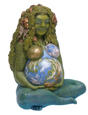Millennial Gaia Earth Mother Statue By Oberon Zell   Millennial Gaia Earth Mother Statue By Oberon Zell, Mother Earth, Mythic Images Gaia, Millenial Gaia, Milennial Gaia